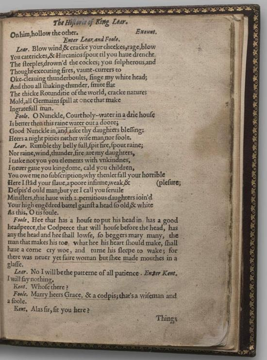 Image of King Lear, Quarto 1 (Halliwell-Phillipps (Alternate)), page 41