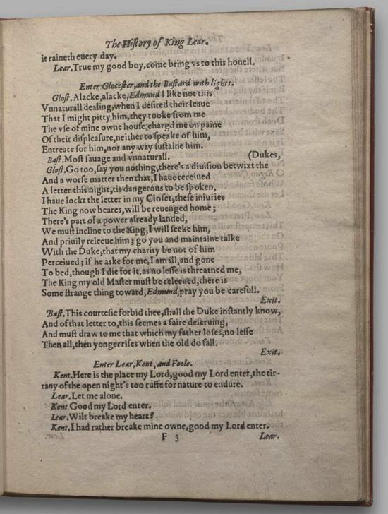 Image of King Lear, Quarto 2 (Garrick), page