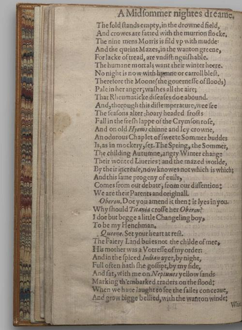 Image of A Midsummer Night's Dream, Quarto 1 (British Library), page 16