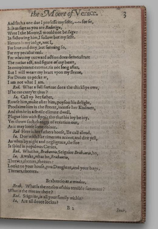 Image of Othello, Quarto 1 (British Library), page 7