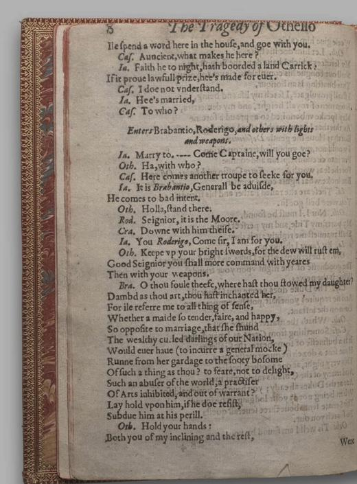Image of Othello, Quarto 1 (British Library), page 12