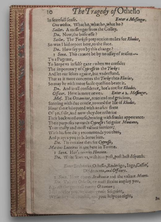 Image of Othello, Quarto 1 (British Library), page 14