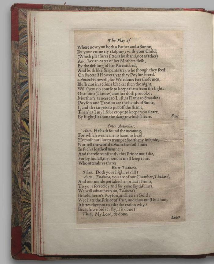 Image of Pericles, Quarto 1 (George III), page 8