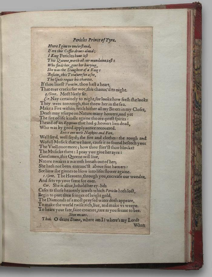 Image of Pericles, Quarto 1 (George III), page