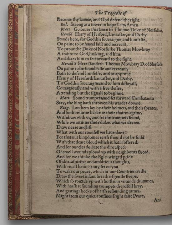 Image of Richard II, Quarto 1 (Huth), page 14