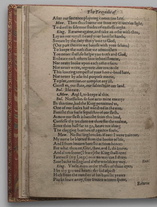 Image of Richard II, Quarto 1 (Huth), page 16