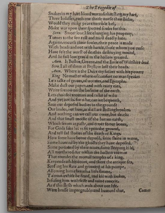 Image of Richard II, Quarto 1 (Huth), page 44