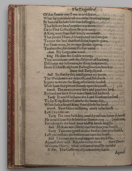 Image of Richard II, Quarto 1 (Huth), page 46