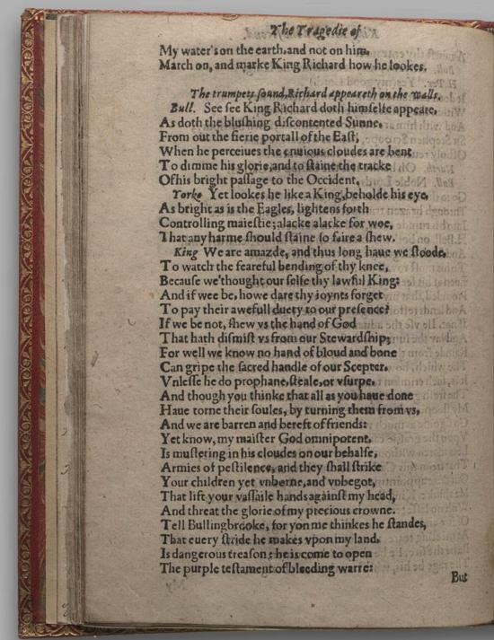 Image of Richard II, Quarto 1 (Huth), page 48