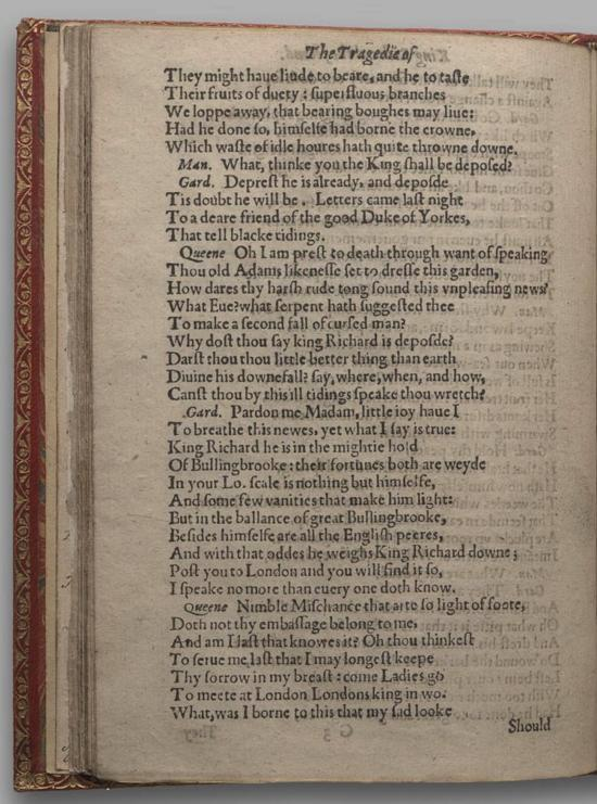 Image of Richard II, Quarto 1 (Huth), page 54
