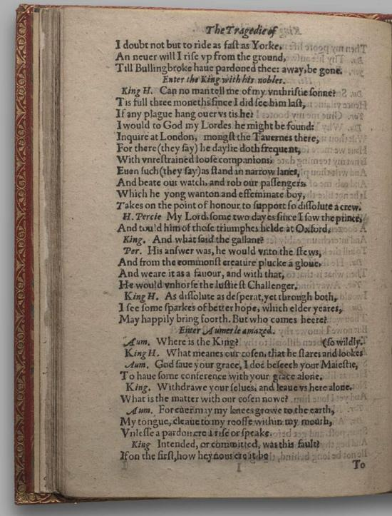 Image of Richard II, Quarto 1 (Huth), page 66