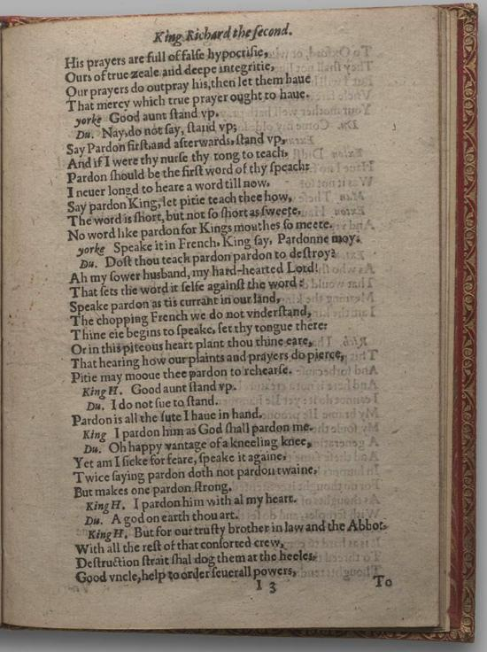 Image of Richard II, Quarto 1 (Huth), page 69