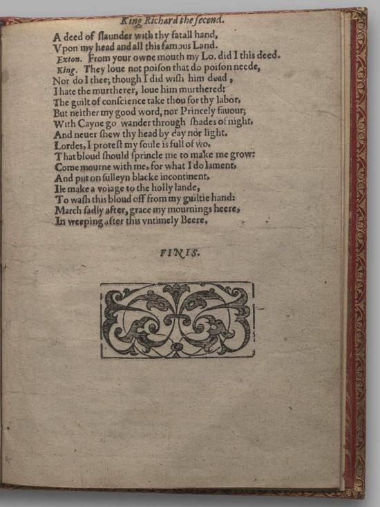 Image of Richard II, Quarto 1 (Huth), page 75