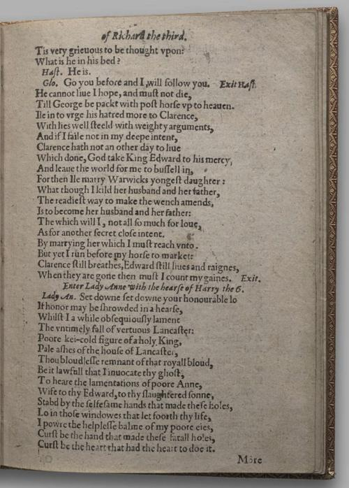 Image of Richard III, Quarto 1 (Huth), page 7