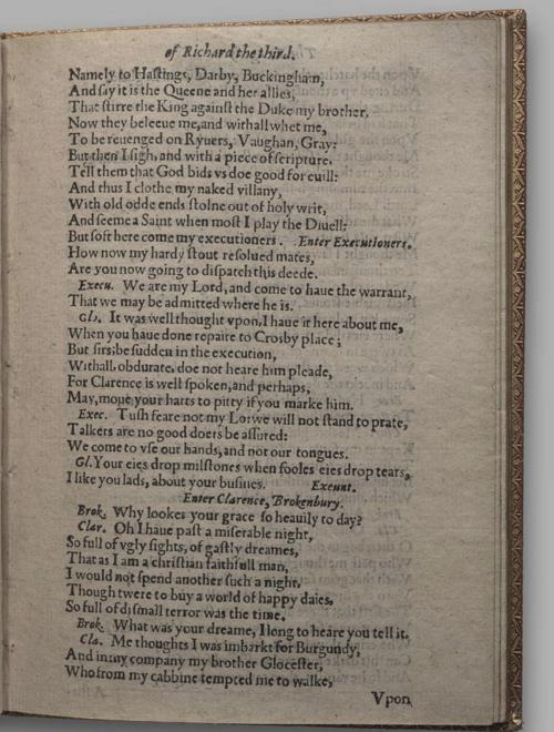 Image of Richard III, Quarto 1 (Huth), page 23