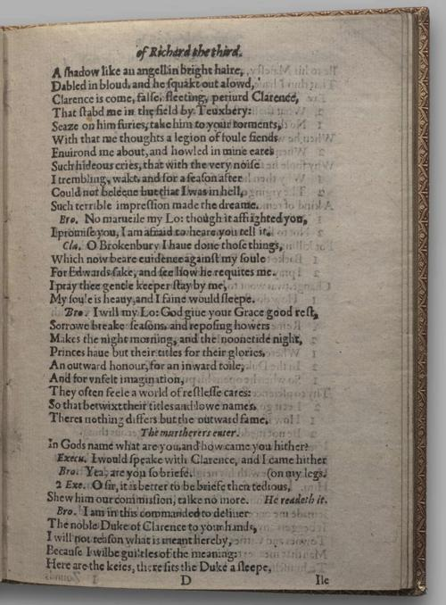 Image of Richard III, Quarto 1 (Huth), page 25