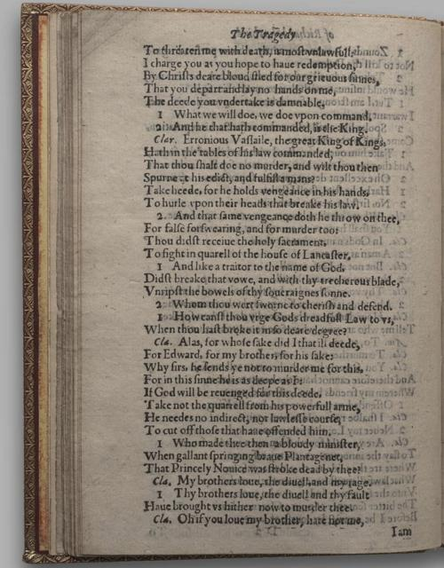 Image of Richard III, Quarto 1 (Huth), page