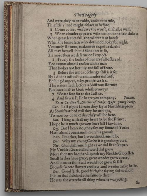 Image of Richard III, Quarto 1 (Huth), page 38