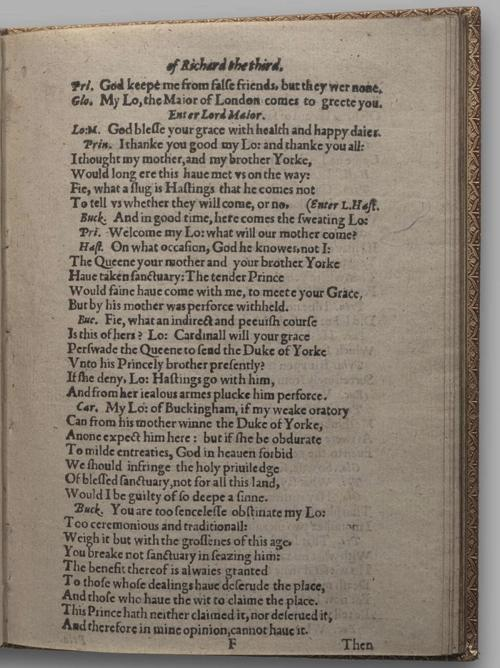 Image of Richard III, Quarto 1 (Huth), page 41