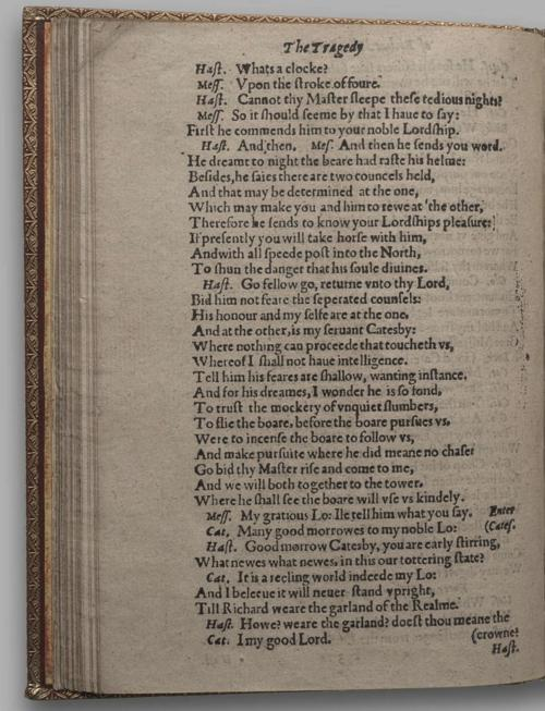 Image of Richard III, Quarto 1 (Huth), page 46
