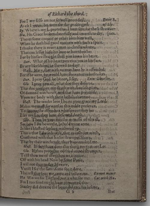 Image of Richard III, Quarto 1 (Huth), page 51