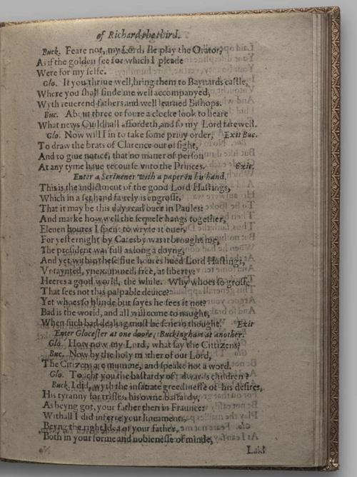 Image of Richard III, Quarto 1 (Huth), page 55