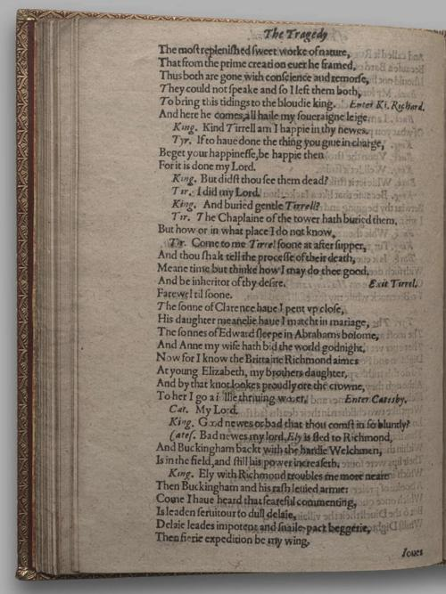 Image of Richard III, Quarto 1 (Huth), page 68