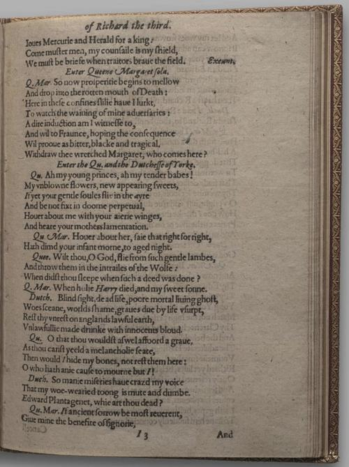 Image of Richard III, Quarto 1 (Huth), page 69