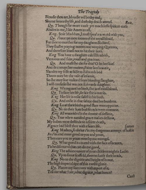 Image of Richard III, Quarto 1 (Huth), page 74