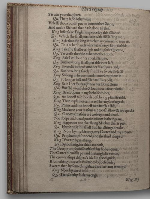 Image of Richard III, Quarto 1 (Huth), page 76