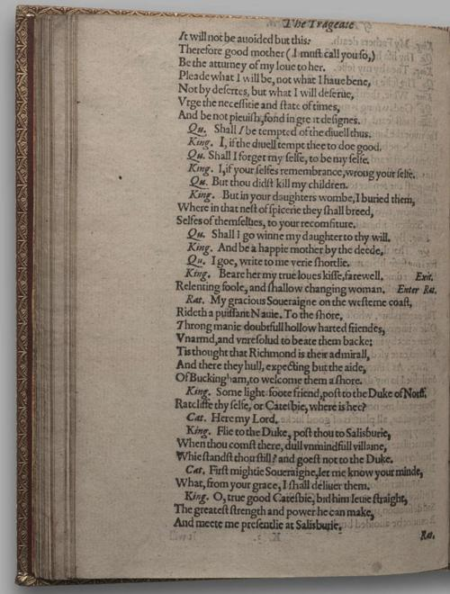 Image of Richard III, Quarto 1 (Huth), page 78