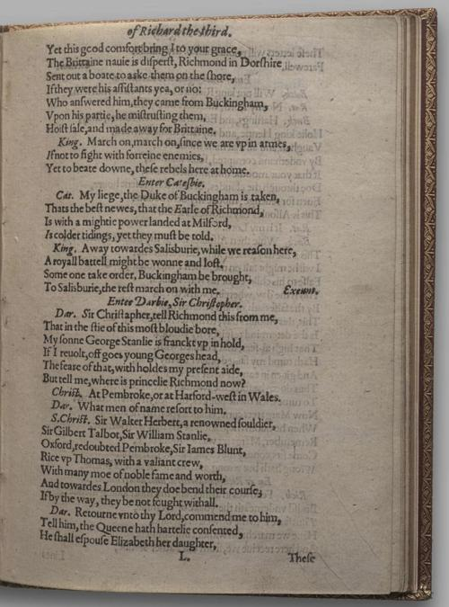 Image of Richard III, Quarto 1 (Huth), page 81