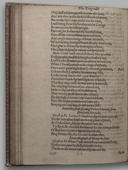 Image of Richard III, Quarto 1 (Huth), page 86