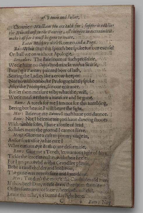 Image of Romeo and Juliet, Quarto 1 (Garrick), page 15