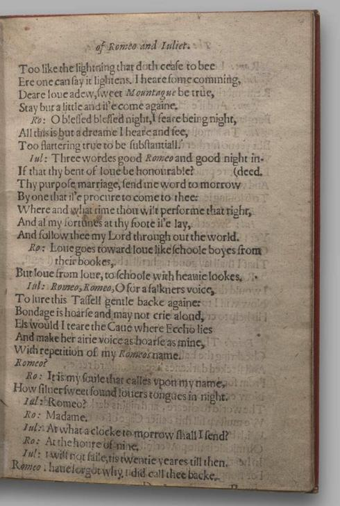 Image of Romeo and Juliet, Quarto 1 (Garrick), page 27