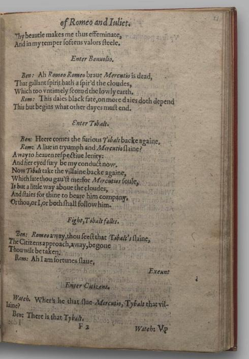 Image of Romeo and Juliet, Quarto 1 (Garrick), page 41