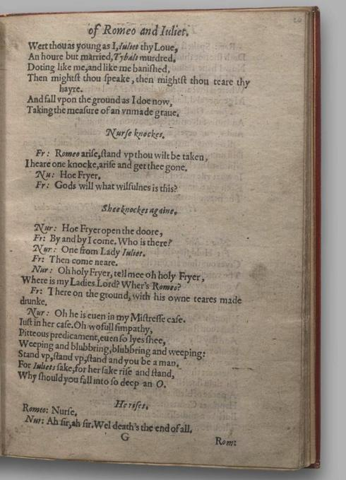 Image of Romeo and Juliet, Quarto 1 (Garrick), page 47