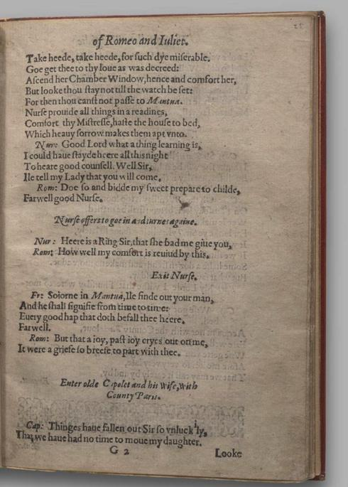 Image of Romeo and Juliet, Quarto 1 (Garrick), page 49