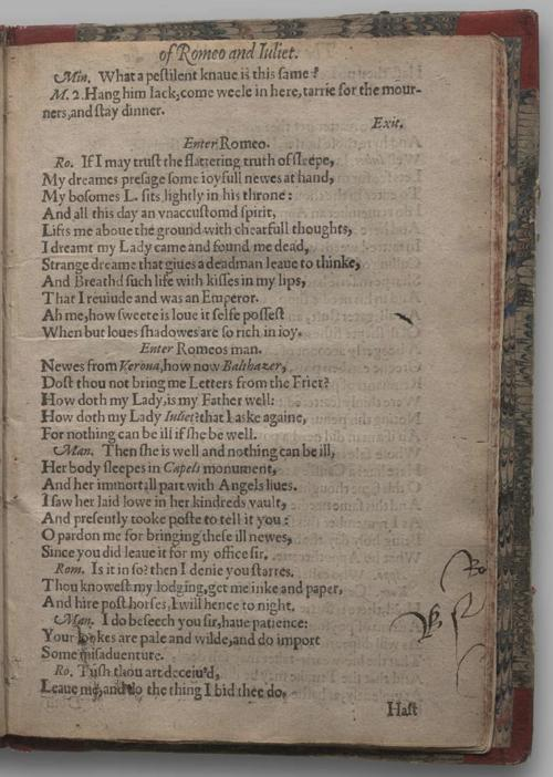 Image of Romeo and Juliet, Quarto 2 (George III), page 79