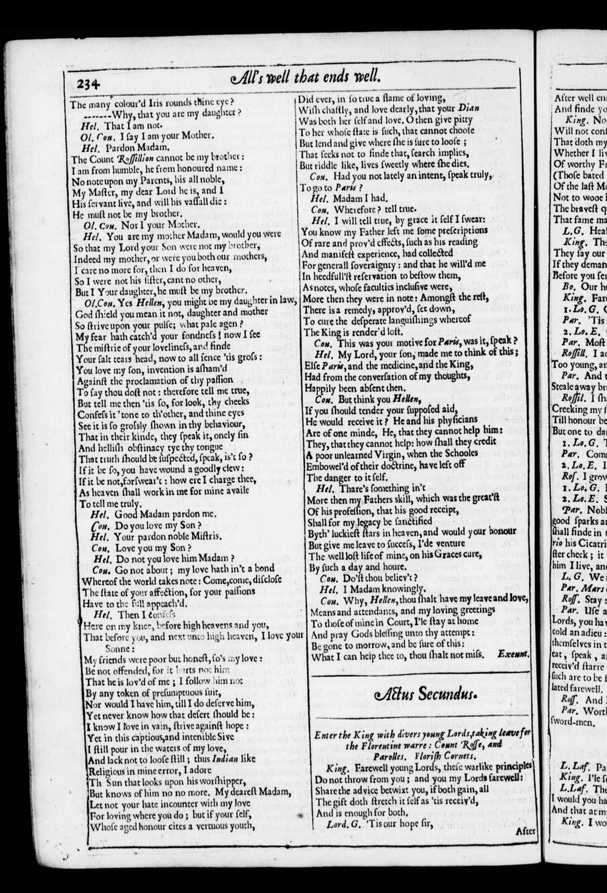 Image of Third Folio (New South Wales), page 257