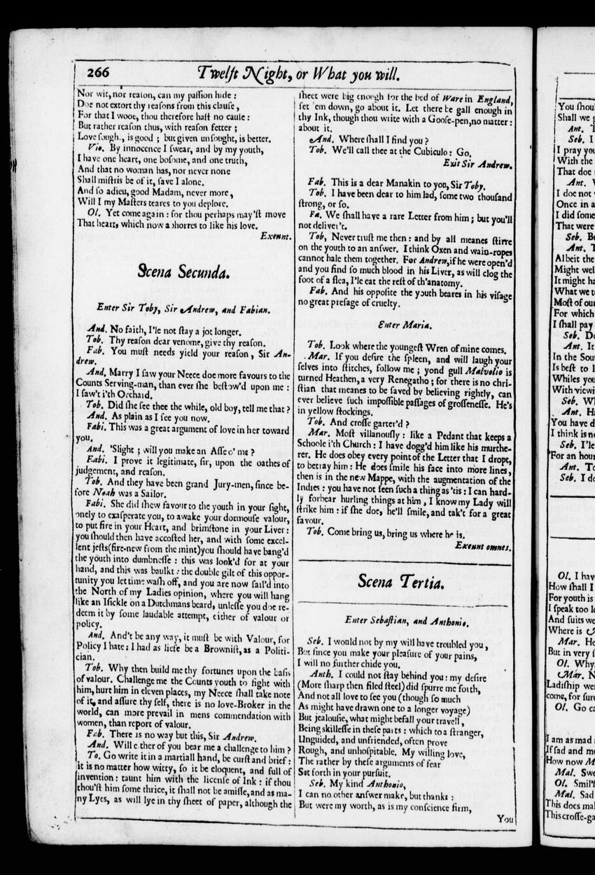 Image of Third Folio (New South Wales), page 289