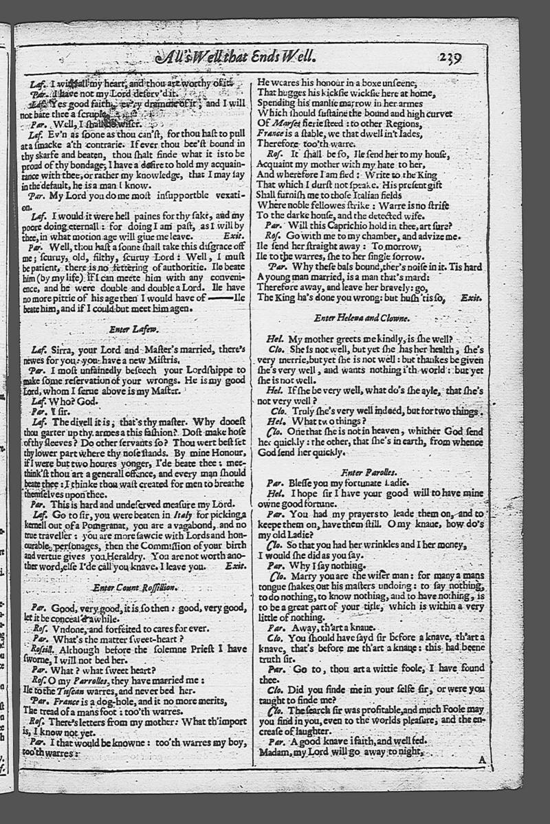 Image of Second Folio (New South Wales), page 257