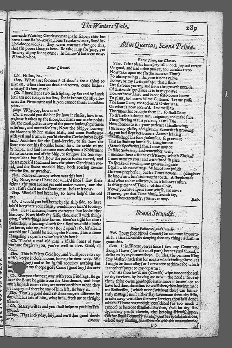 Image of Second Folio (New South Wales), page 307