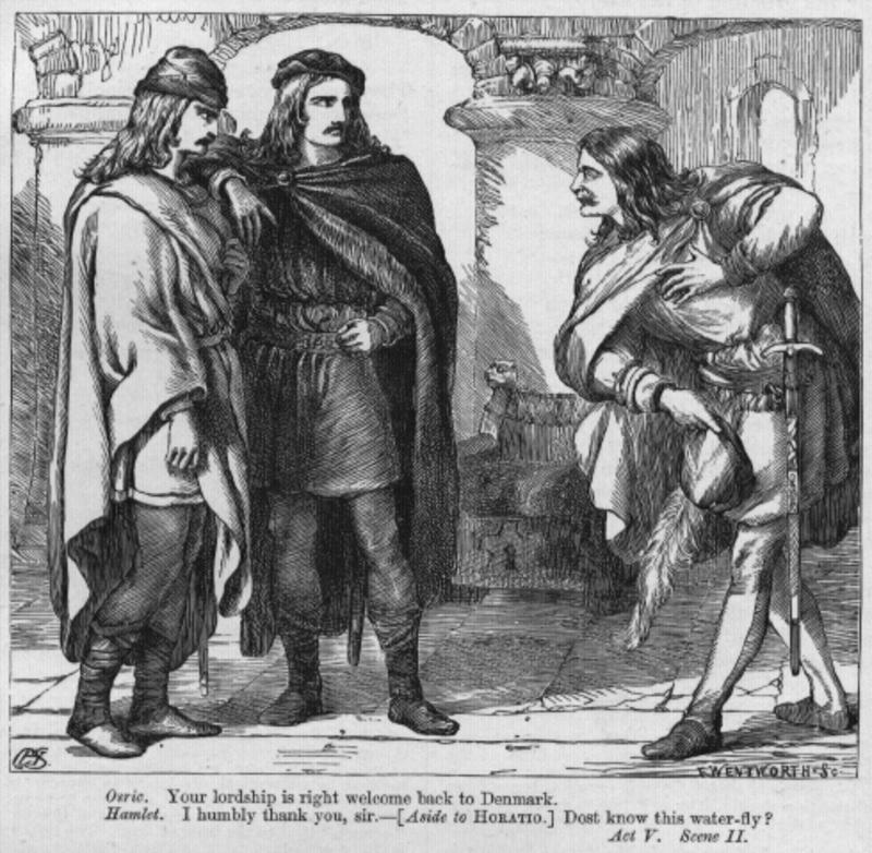 a summary of act one of shakespeares hamlet Introduction to hamlet hamlet, the first in shakespeare's series of great tragedies, was initially classified as a problem play when the term became fashionable in.