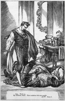 iago as a master manipulator in the play othello by william shakespeare Struggling with themes such as manipulation in william shakespeare's othello othello by william shakespeare master of deception iago plots.