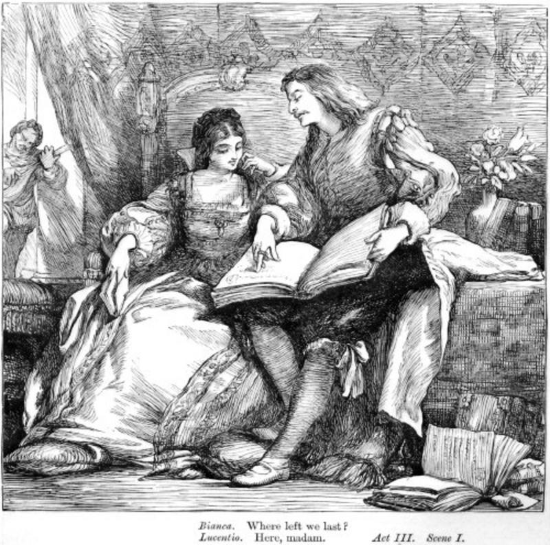 an overview of the character actions in the taming of the shrew a play by william shakespeare Read about 'of domesticall duties by william gouge,  and shakespeare also avoids making his play a  william shakespeare the taming of the shrew is.
