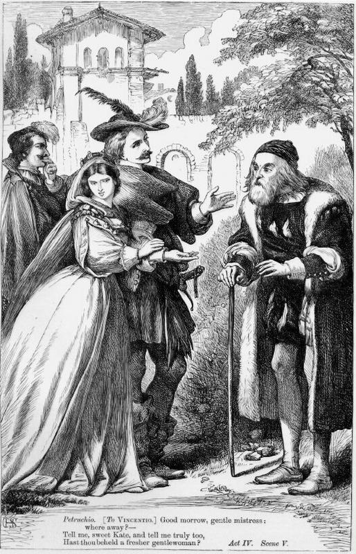 the focus on identity and perspective in shakespeares taming of the shrew The taming of the shrew: a modern perspective in william shakespeare, the taming of the shrew, ed by barbara mowat and paul werstine the new folger library shakespeare.