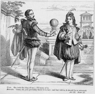directing malvolio in act 2 scene Home → no fear shakespeare → twelfth night → act 2, scene 2 viola enters with malvolio following malvolio were not you even now with the countess olivia.
