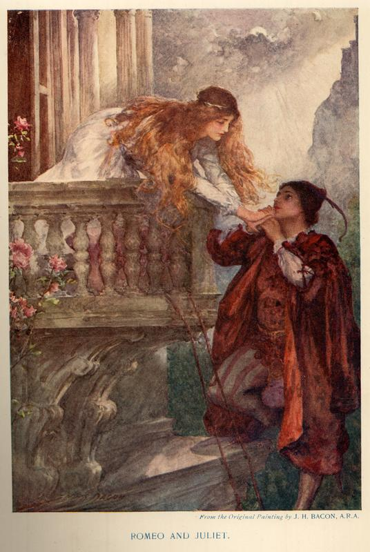 the development of the tragedy in the famous story of romeo and juliet